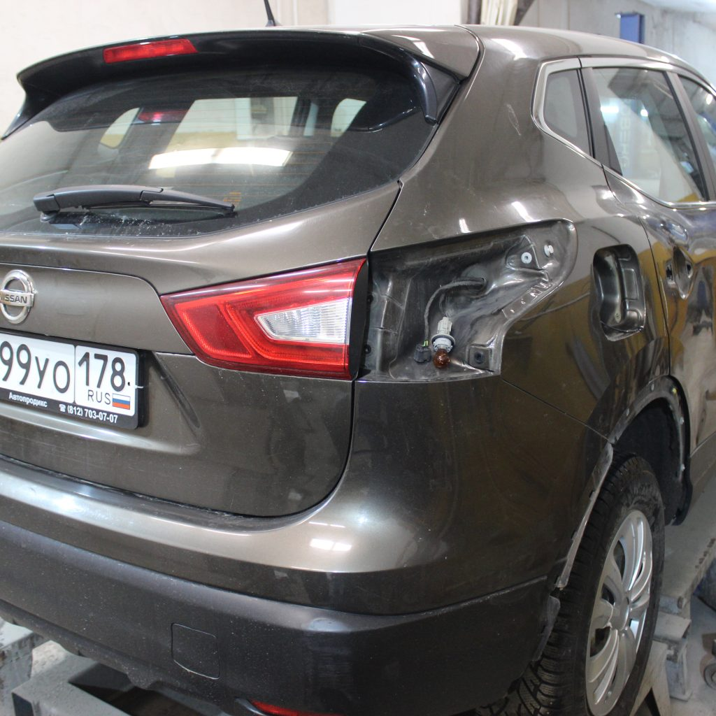 Кузовной ремонт и окраска автомобиля